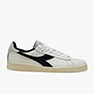 SNEAKERS DIADORA GAME L LOW USED WHITE/BLACK 501.17476401 C0351
