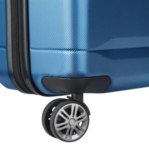 Delsey - Comete - Valigia trolley medio 4 doppie ruote ABS slim 67 cm blu chiaro cod. 3039810