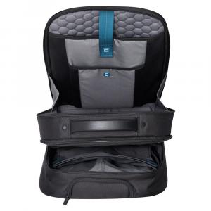 Delsey - Quarterback Premium - Zaino trolley espandibile wps da cabina 2 scomparti protezione pc 17.3