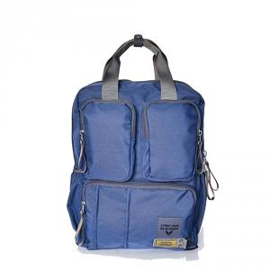 Avirex - Nevada - Zaino unisex porta pc in nylon 2 scomparti blu cod. 16ABL