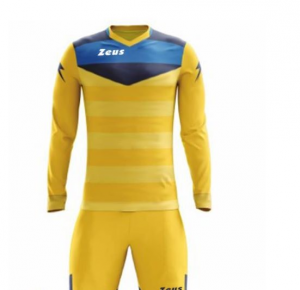 ZEUS GK KIT ARGO GOALKEEPER GIALLO/BLU/ROYAL