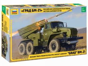 BM-21 Grad Rocket Launcher