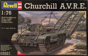 CHURCHILL A.V.R.E. BRIDGE