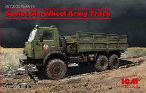 SOVIET SIX-WHEEL ARMY TRUCK