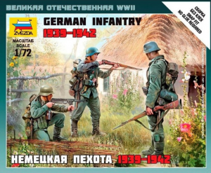 WWII GERMAN INFANTRY 1939-1942