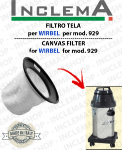 929 Canvas Filter WIRBEL  for vacuum cleaner