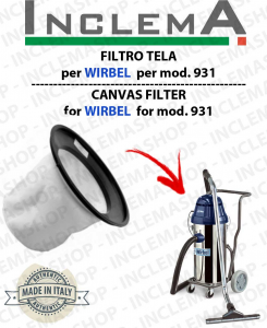 931 Canvas Filter WIRBEL  for vacuum cleaner