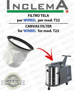T22 FILTRO TELA PER aspirapolvere WIRBEL