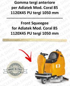 CORAL 85 goma de secado delantera para fregadora ADIATEK (tergi da 1050 mm)