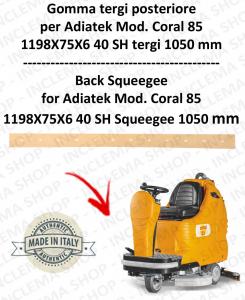 CORAL 85 goma de secadopavimento trasero para fregadora ADIATEK (tergipavimento 1050 mm)