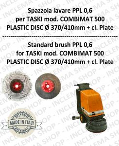 Standard Bürsten PPL 0.6 WHITE für Scheuersaugmaschinen TASKI  Modell COMBIMAT 500