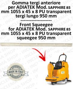 SAPPHIRE 85 goma de secado delantera para fregadora ADIATEK (tergi da 950 mm)