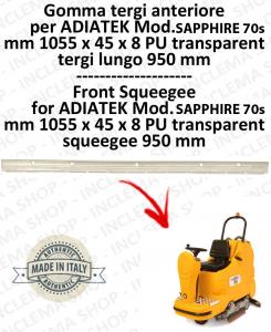 SAPPHIRE 70s goma de secado delantera para fregadora ADIATEK (tergi da 950 mm)