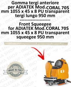 SAPPHIRE 65 GOMMA TERGI ANTERIORE per lavapavimenti ADIATEK (tergi da 950 mm)-2