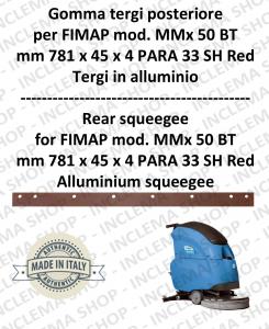 goma de secadopavimento trasero para fregadora FIMAP MMx 50