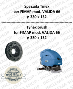 SPAZZOLA in TYNEX for Scrubber Dryer FIMAP mod. VALIDA 66