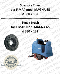 SPAZZOLA in TYNEX for Scrubber Dryer FIMAP mod. MAGNA 65