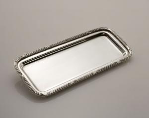 Vassoietto portapenne sheffield stile Ruban Croisè cm.20x8x1h
