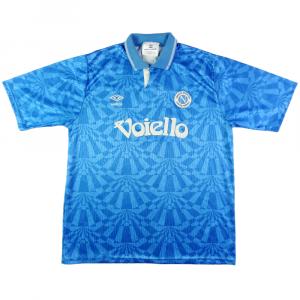 1991-93 Napoli MAGLIA Home L