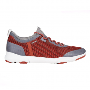 Sneaker rosso/grigia Geox