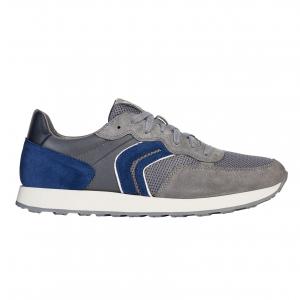 Sneaker grigio/royal Geox
