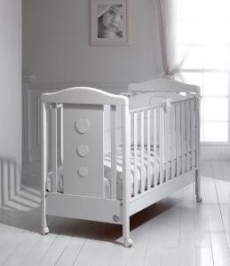 Lettino coll. Allegria Cuoricini Baby expert