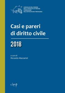 Casi e pareri di diritto civile 2018