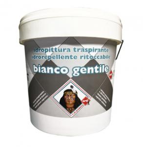 BIANCO GENTILE IDROPITTURA TRASPIRANTE IDROREPELLENTE RITOCCABILE