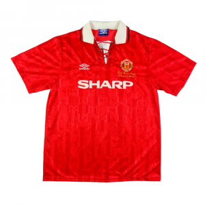 1993-94 MANCHESTER UNITED MAGLIA 'Premier League Champions' HOME XL (TOP)