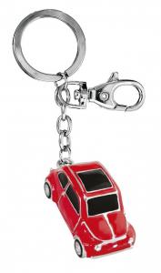 Portachiavi auto d'epoca rossa cm.11,5x3,2x2,1h
