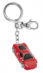 Portachiavi auto sportiva rossa cm.11,5x3,2x1h