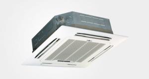 Ventilazione meccanica controllata : cassetta unità interne 84x84 cm capacità raffrescamento 9kw portata aria 1596 metricubi/orarie