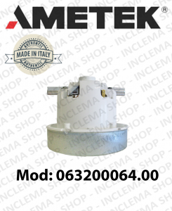 vacuum motor 063200064.00 AMETEK for vacuum cleaner