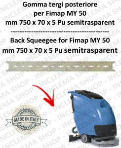 MY 50  Hinten Sauglippen FIMAP Pu trasparent