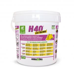 Kerakoll H40 Extreme A+B 10kg gel adesivo ibrido saldatutto