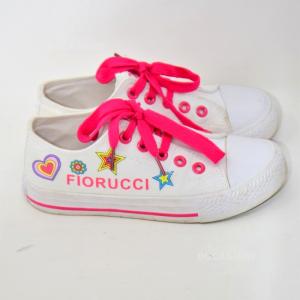 Scarpe Bambina Fiorucci Bianche N.31