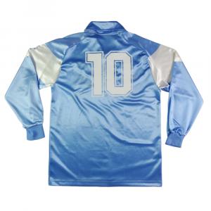 1990-91 Napoli Maglia Home #10 Maradona XL (Top)