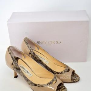 Scarpe Donna Jimmy Choo Beige N. 36