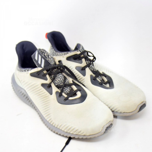 Scarpe Uomo Adidas N. 44.5 Grigie