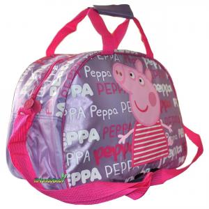 Borsa Borsone Peppa Pig grande con tracolla 42 cm
