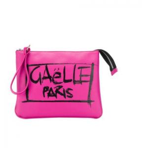 Pochette Gaelle Paris Fucsia