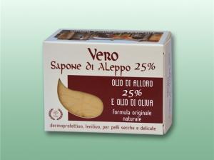 Vero sapone di Aleppo