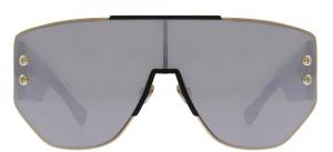 Christian Dior - Occhiale da Sole Donna, Dior Addict 1, Black/Grey Silver, col. RHL/0T