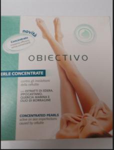 Perle Concentrate Obiectivo  18 capsule contro gli inestetismi della cellulite.