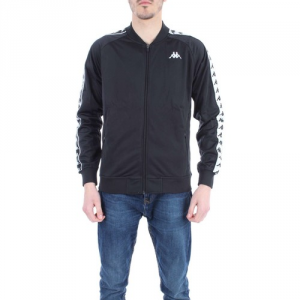 JACKET KAPPA 303EW10 BLACK/WHITE