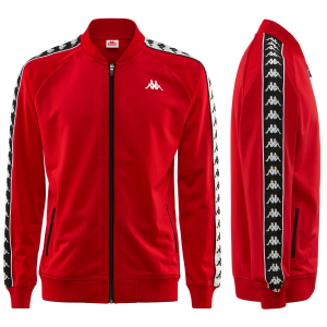 GIACCA KAPPA 222 JACKET RED/WHITE/BLACK 303WY10 C67