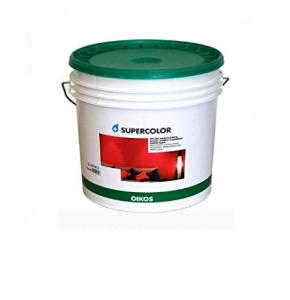 Oikos Supercolor pittura acrilica lavabile traspirante effetto liscio/opaco 1lt bianca