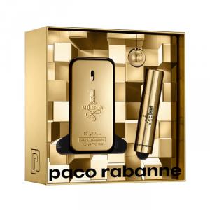 Paco Rabanne 1 Million Eau De Toilette Spray 50ml Set 2 Parti 2019