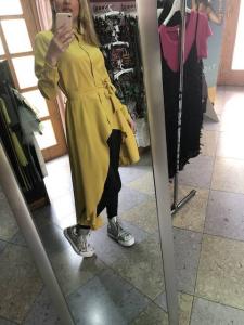 Camicia Chemisier con cintura 4 colori