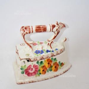 Ferro Da Stiro In Ceramica ( Bassano )